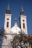 Romare - katolsk kyrka, Sombor, Serbien Fotografering för Bildbyråer