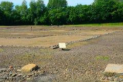 Romaren fördärvar, Wallsend, England arkivbild