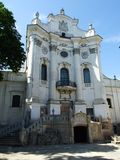Romaren - katolsk kyrka av Carmelites Arkivfoton