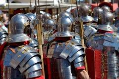 Romańscy żołnierze Zdjęcia Royalty Free