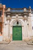 Romasi De Giorgi palace. Taurisano. Puglia. Italy. Royalty Free Stock Images
