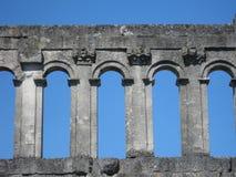 Romańska brama Fotografia Royalty Free