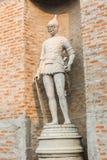 Romańska statua wojownik Obrazy Royalty Free