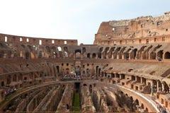 Romański Colosseum w Rzym Zdjęcie Stock