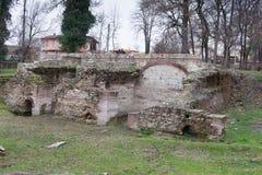 Romańskie ruiny Zdjęcia Stock