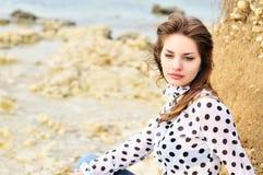 romatic teen för flicka Arkivbild