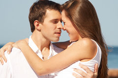 Romatic young couple Royalty Free Stock Photo