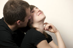 Free Romatic Young Couple Royalty Free Stock Images - 17348909