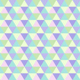Romb pattern  triangle texture Stock Image
