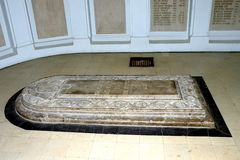 Tomb stone in Marasesti Mausoluem Stock Photography