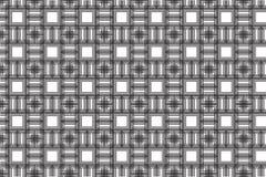 Rombi e modello dei quadrati illustrazione di stock
