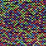 Rombo astratto variopinto del ADN del fondo Fotografia Stock Libera da Diritti