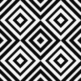 Rombo sem emenda geométrico abstrato do teste padrão Imagem de Stock