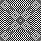 Rombo sem emenda geométrico abstrato do teste padrão Imagens de Stock Royalty Free