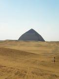 Romboidisk pyramid Royaltyfri Fotografi