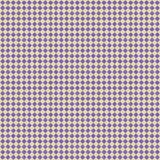 Rombos violetas no fundo amarelo, teste padrão repetido ilustração do vetor