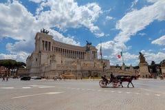 rome Алтар памятника отечества Стоковые Фото