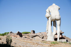 rome Руины Ostia Antica Стоковая Фотография