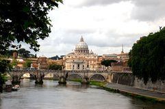 Rome. A serene view of the city of Rome Stock Photos