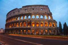 Colosseum in Rome (Anfiteatro Flavio) Royalty Free Stock Image