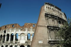 Rome. Historical Colosseum at Rome, Italy royalty free stock image