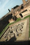 Rome. The palatine hill in rome stock photos