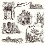 rome stock illustrationer