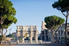 In Rome Royalty-vrije Stock Afbeeldingen