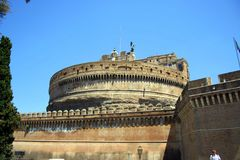Rome. The san angelo castle Royalty Free Stock Photo
