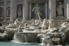 Rome. Fontana di Trevi royalty free stock photos