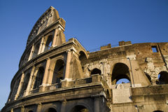 Rome. Colisseum detail in rome, coliseo, Italy Stock Photos