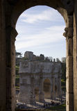 Rome. Arco Di Settimio Severo from colisseum, roman forum, rome Stock Photos