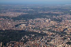 Rome aerial view Royalty Free Stock Photos