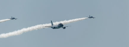 Rome Air Show 2014 royalty free stock photography