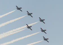 Rome Air Show 2014 Royalty Free Stock Photos