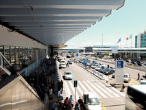 Rome Airport. International terminal at the airport of Rome, Italy royalty free stock images