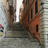 Rome alleyways stock photography