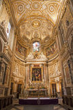 Rome - Altar of church Santa Maria dell anima Royalty Free Stock Images