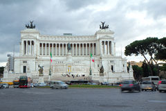 Rome. The Altar Of The Fatherland . Stock Image