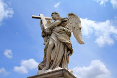 Rome angel Stock Photography