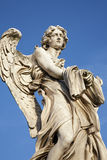 Rome - Angel with garment and dice Royalty Free Stock Images