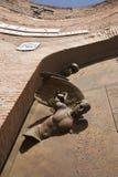 Rome - angel from gate of Santa Maria degli Angeli Stock Image