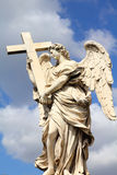 Rome - angel sculpture Royalty Free Stock Photo