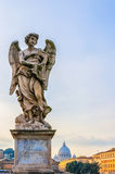 Rome Angel Statue Royalty Free Stock Photography