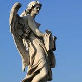Rome angel statue Royalty Free Stock Photo