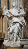 Rome - Angel statue from San Ignacio Stock Images