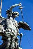 rome angelo nad ponte bridżowy Italy Rome sant Tiber Zdjęcia Stock