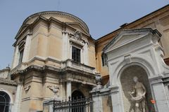 Rome antique architecture photography. Good for any design or project Stock Photo