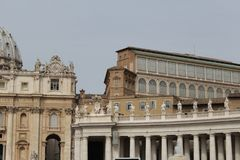 Rome antique architecture photography. Good for any design or project Royalty Free Stock Image