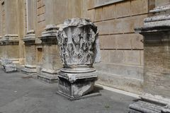 Rome antique architecture photography. Good for any design or project Royalty Free Stock Photo